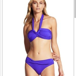 Seafolly convertible bikini top and bottom